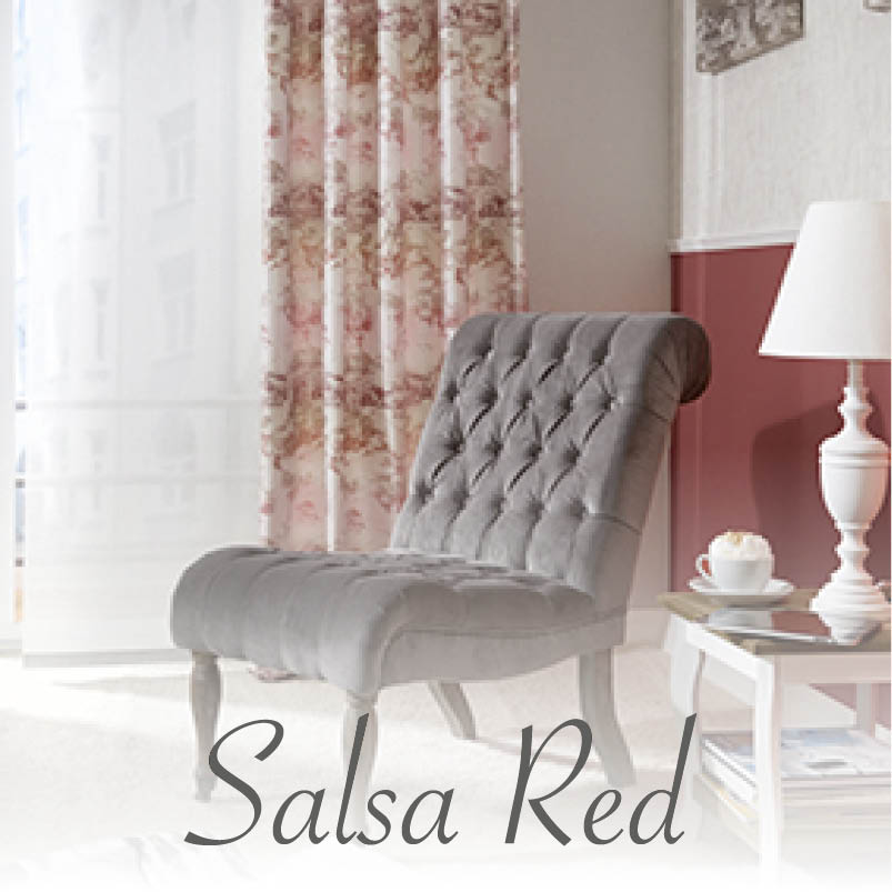 Indes Farbwelt Salsa Red