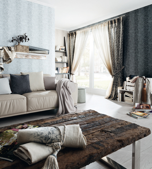 Fuggerhaus Wallcoverings Tapete Due Corde aus der Kollektion Ensemble.