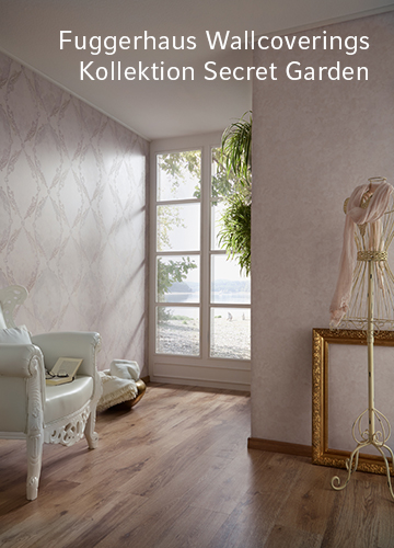 Fuggerhaus Wallcoverings Kollektion Secret Garden