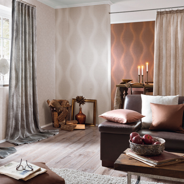 Fuggerhaus Wallcoverings Tapete Rondo aus der Kollektion Ensemble.