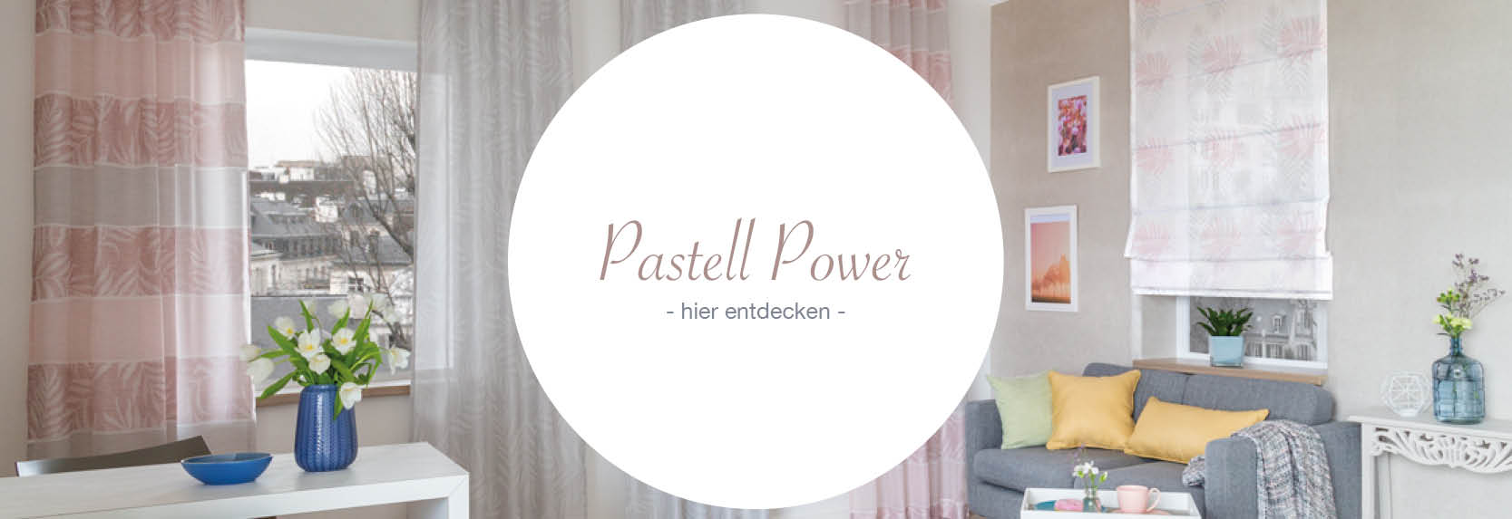 Indes Kollektion Pastell Power